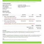 Sidra Invoice
