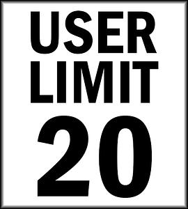 User Limit 20