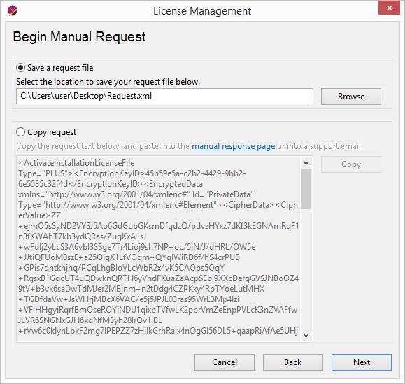 Manual Activation Response